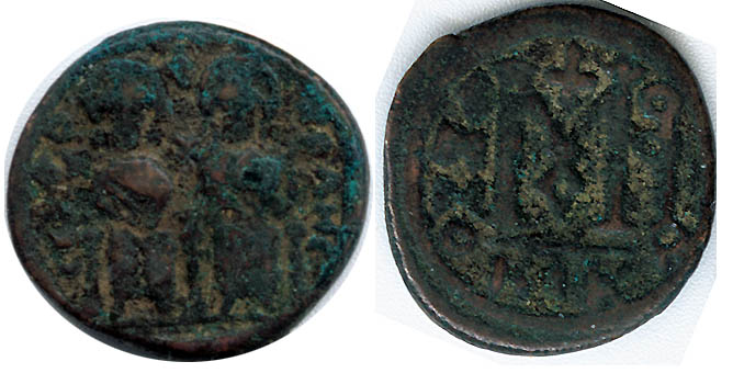 Hilderik 523-533 ad Ae Nummus King Of Ostrogoths