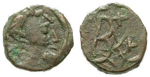 Ae Nummus ad Hilderik 523-533 King Of Ostrogoths