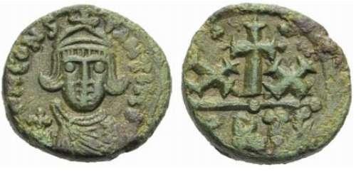 20 Nummi de Constante II. Sb1057