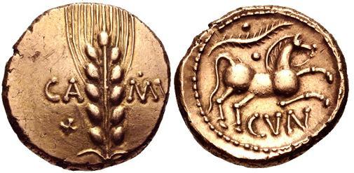 Britain Catuvellauni Cunobelin Ancient Celtic Coins Wildwinds Com