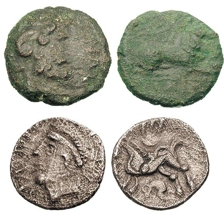 Britain, Trinovantes - Ancient Celtic Coins - WildWinds com