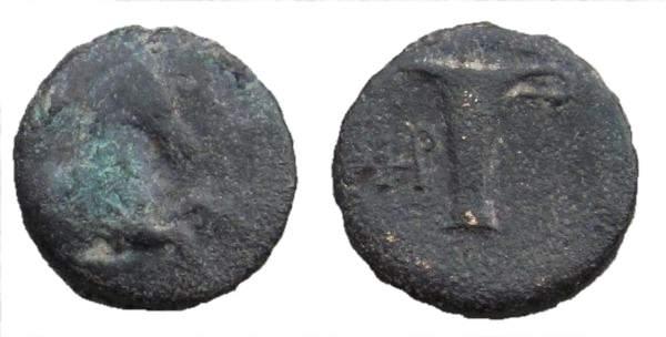 AE 17 de Kyme, Aeolis SNGCop_79