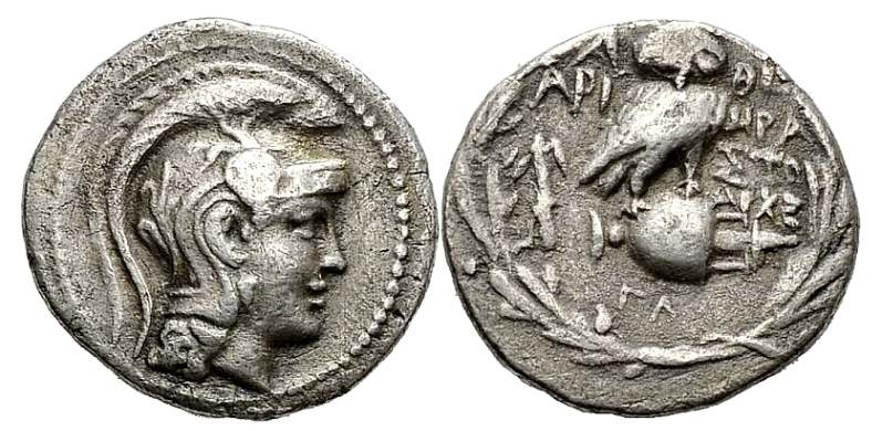 After 449 Bc. Athens Ar Tetradrachm Attica