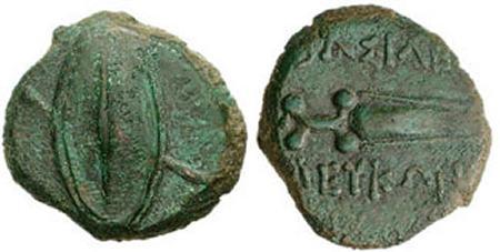 Moneda rara con cerdo SNGBM_959