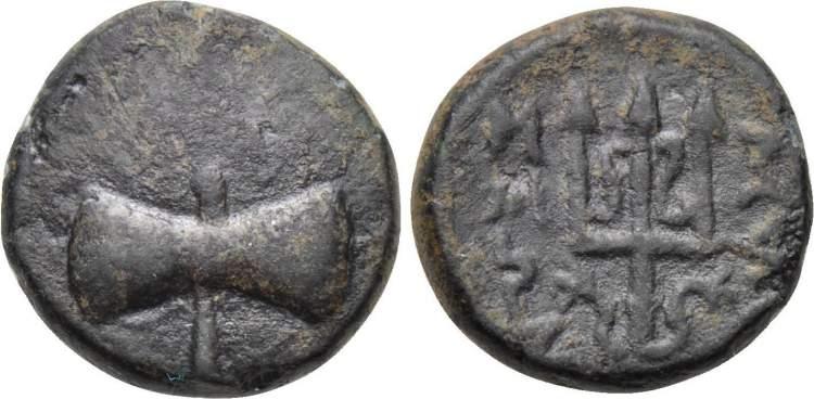 Greek Coıns Mylasia Caria Coins & Paper Money