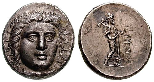 caria  satraps  hidrieus - ancient greek coins