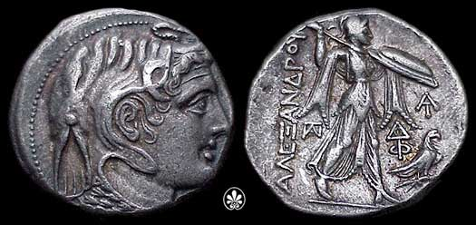 Egypt, ptolemy i, ancient coins index with thumbnails - wildwinds.com.