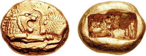 king alyattes coin