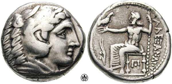 Tetradracma Alejandro Magno. Fecha y ceca inciertas. Price_0129.2
