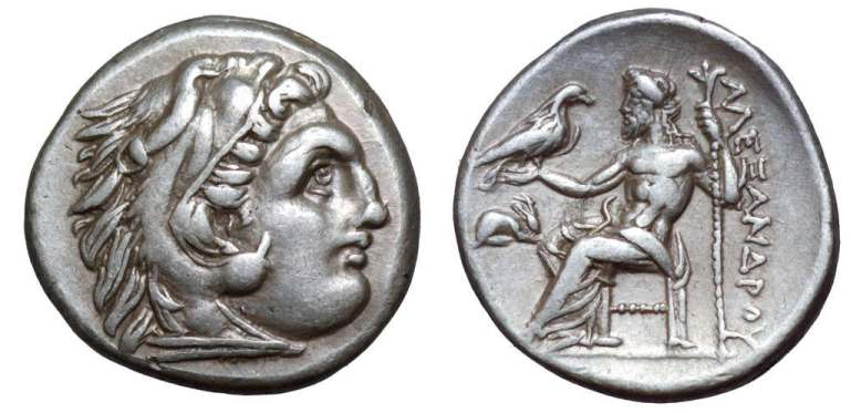 Dracma de Alejandro Magno (Grecia) Price_1427