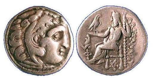 Dracma de Lisímacos como Alejandro III el grande  Price_1840
