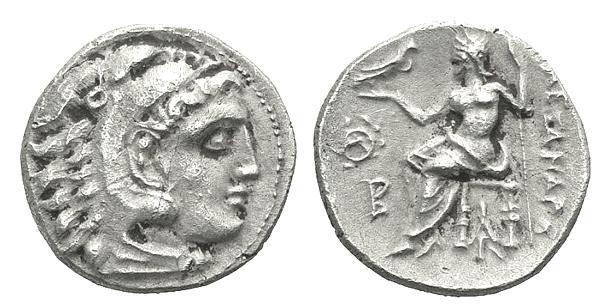 Dracma (postumo) de Alejandro Magno, Babilonia Price_1979