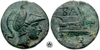 AE18 de Filipo V de Macedonia SNGCop_1185.1