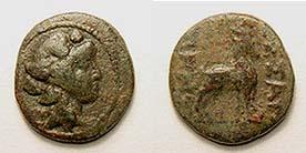Ae de Tesalonica- Macedonia (dominio romano) Moushmov_6610.1