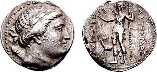 Pamphylia, Perga - Ancient Greek Coins - WildWinds com