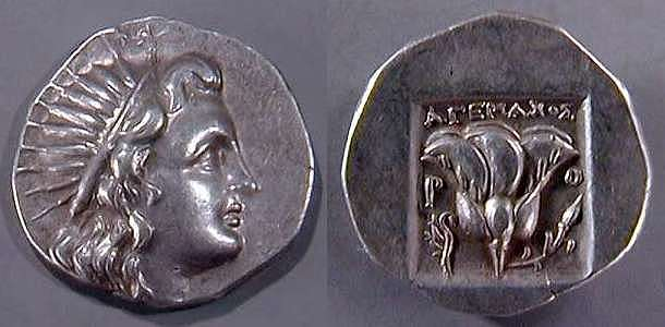 Greek coinage index by issuing authority