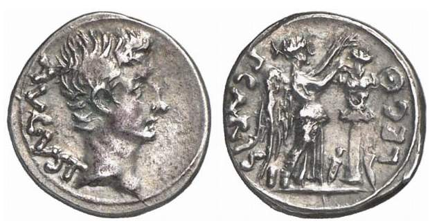 Augustus, Roman Imperial Coins of, at WildWinds com