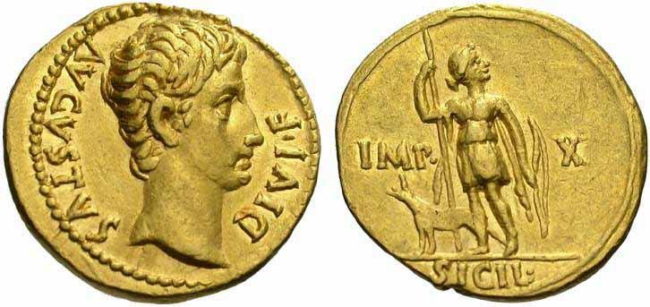 Augustus caesar coin augustus roman imperial coins