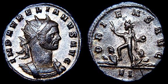 مسكوكات الامبراطور الروماني أورليان  RIC_0062,VI