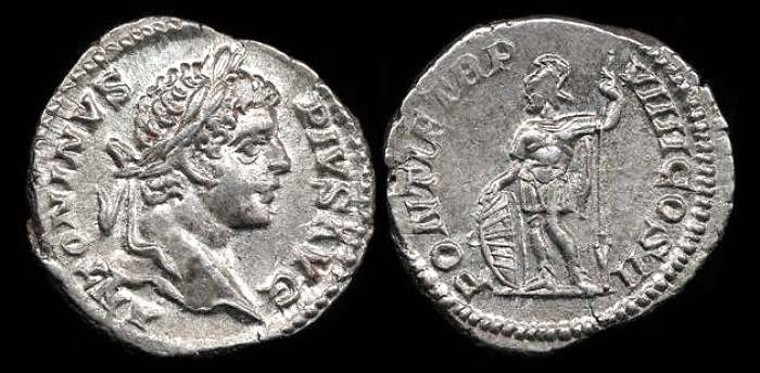Caracalla Roman Imperial Coins Reference At Wildwindscom