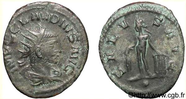 Antoniniano de Claudio II (APOLLINI CONS / H) RIC_0216v