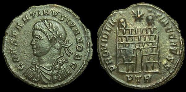 Petite monnaie à identifier _trier_RIC_vII_455
