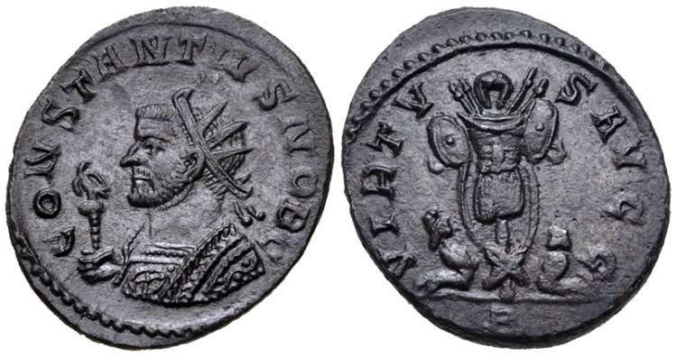 Constantius II, Roman Imperial Coins reference at