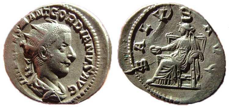 Coins Roman Roman Coin Silver Antoninianus Gordian Iii 238-244 Ad Fortvna Redvx