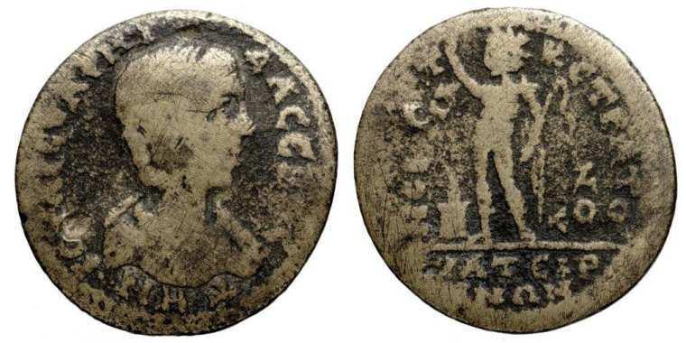 JULIA SOAEMIAS DENARIUS ( † 222 ) ROME   Roman Imperial Coins