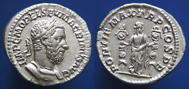 Macrinus, Roman Imperial Coins reference at WildWinds.com