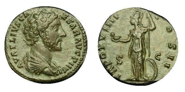 Marcus Aurelius, Roman Imperial Coins reference at WildWinds com