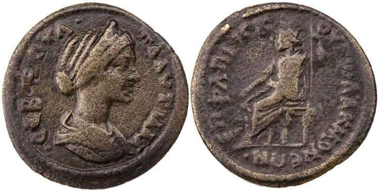 Remarkable Plautilla Roman Imperial Coins Of At Wildwinds Com Cjindustries Chair Design For Home Cjindustriesco