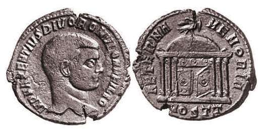 romulus roman imperial coins of at wildwinds com