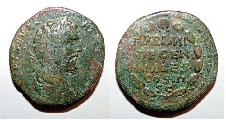 Septimius Severus, Roman Imperial Coins of, at WildWinds com