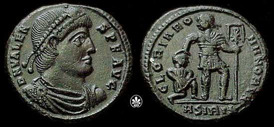morceaux de romaines _sirmium_RIC_004b