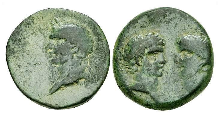 Ancient Greece 400-350 Bc Lesbos Mytilene Silver Diobol Apollo Aphrodite Coins & Paper Money Coins: Ancient