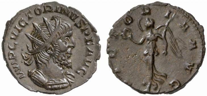 Victorinus from Irchester hoard