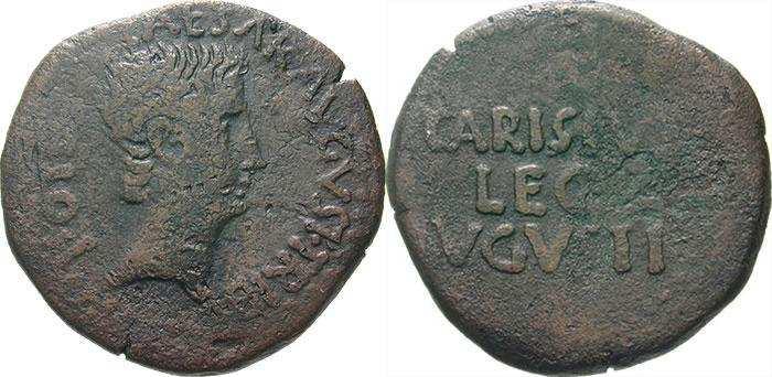 Romaine à Id s.v.p., 2 marques de contrôle. RIC_0023