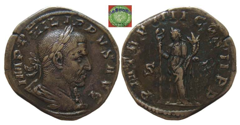 Philip I Roman Imperial Coins Of At Wildwindscom